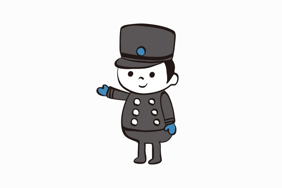 ケーキ屋のキャラクターデザイン_愛知県安城市 パティスリーしあわせのえきサムネイル