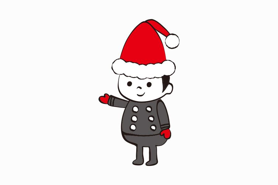 ケーキ屋のクリスマスjキャラクターデザイン