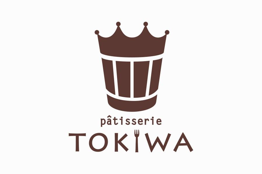ケーキ屋のロゴマークデザイン_愛知県小牧市 パティスリートキワサムネイル