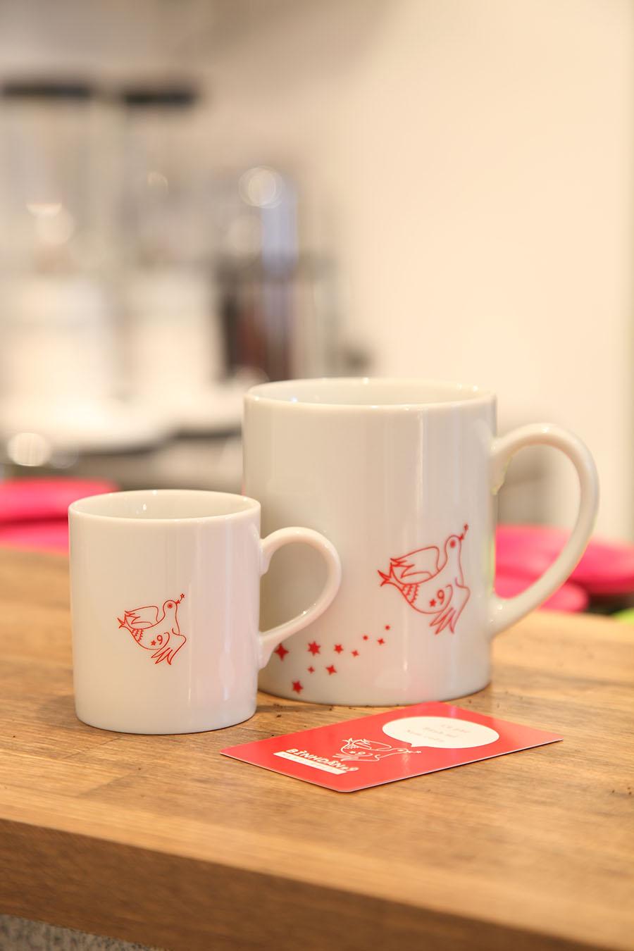 ベトナム料理店のマグカップデザイン