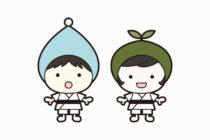 キッズ柔道教室のキャラクターデザイン