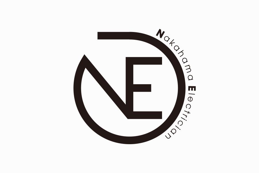 電気工事会社のロゴマークデザイン_愛知県瀬戸市 株式会社中濱電工サムネイル