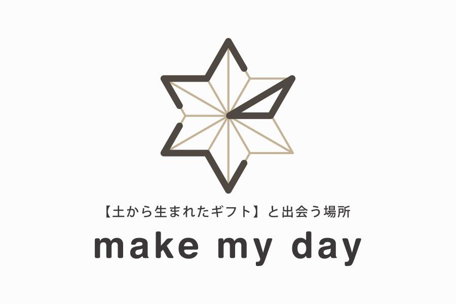 セレクトショップのロゴマークデザイン_名古屋市中区 make my dayサムネイル