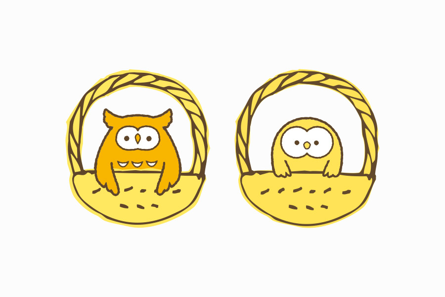不動産チームのキャラクターデザイン_名古屋市中区新栄 ホーカゴ不動産サムネイル