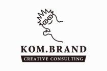 ブランディング事務所のロゴマークデザイン_名古屋市中区新栄KOM.BRAND(コムブランド)サムネイル