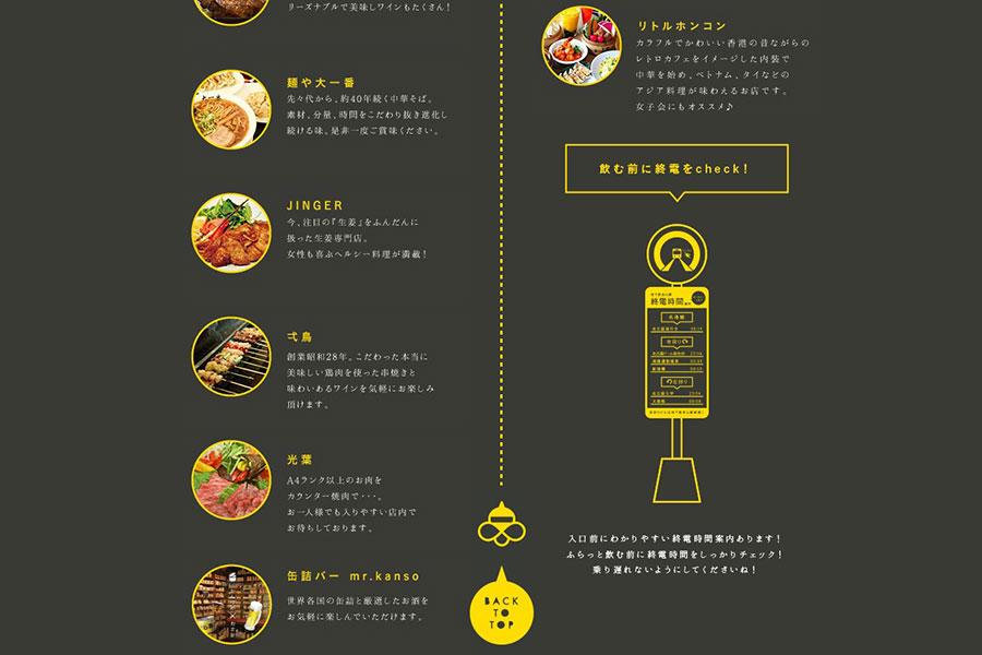 長谷川ビルのホームページデザイン