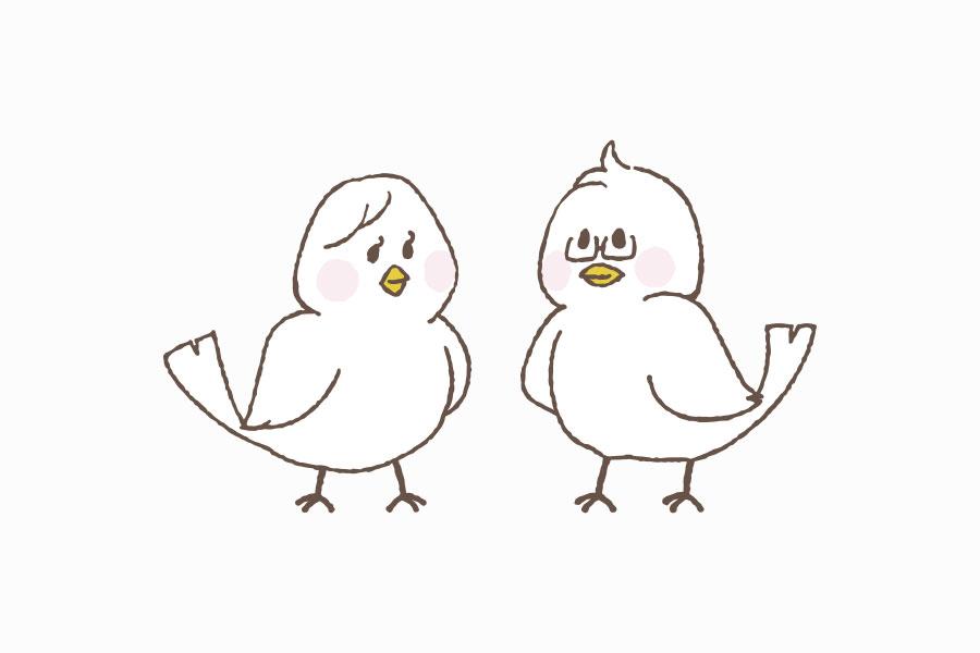税理士事務所のキャラクターデザイン_愛知県小牧市 タカギ税理士事務所サムネイル