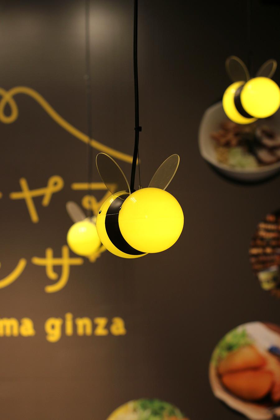 飲食店のオリジナル照明