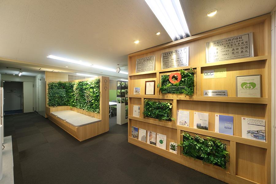 オフィスデザイン_名古屋市中区上前津 ダイワハウスグループ名古屋支店サムネイル