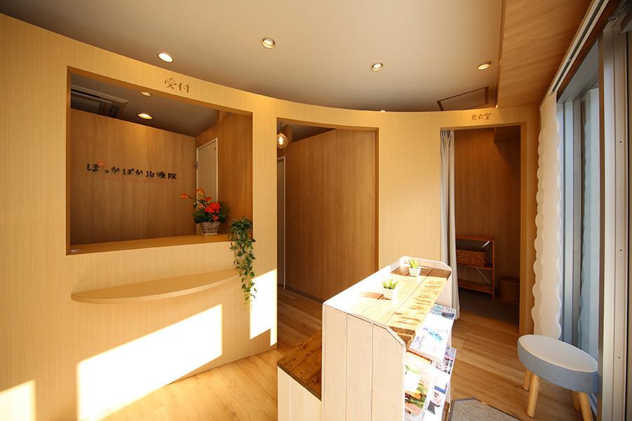整体院の店舗デザイン_愛知県東海市大田町 ぽっかぽか治療院サムネイル