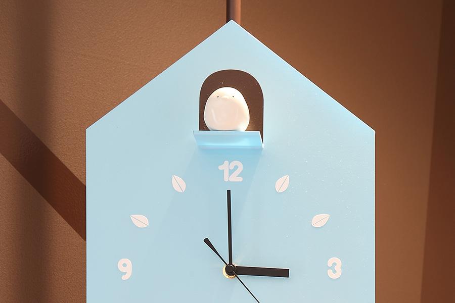 カフェ/オリジナルの鳩時計風オブジェデザイン_ひよこカフェサムネイル