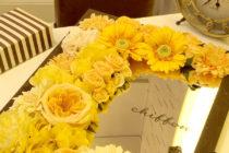 脱毛サロン・エステサロン/造花を使ったアクセントサインデザイン_chiffonサムネイル