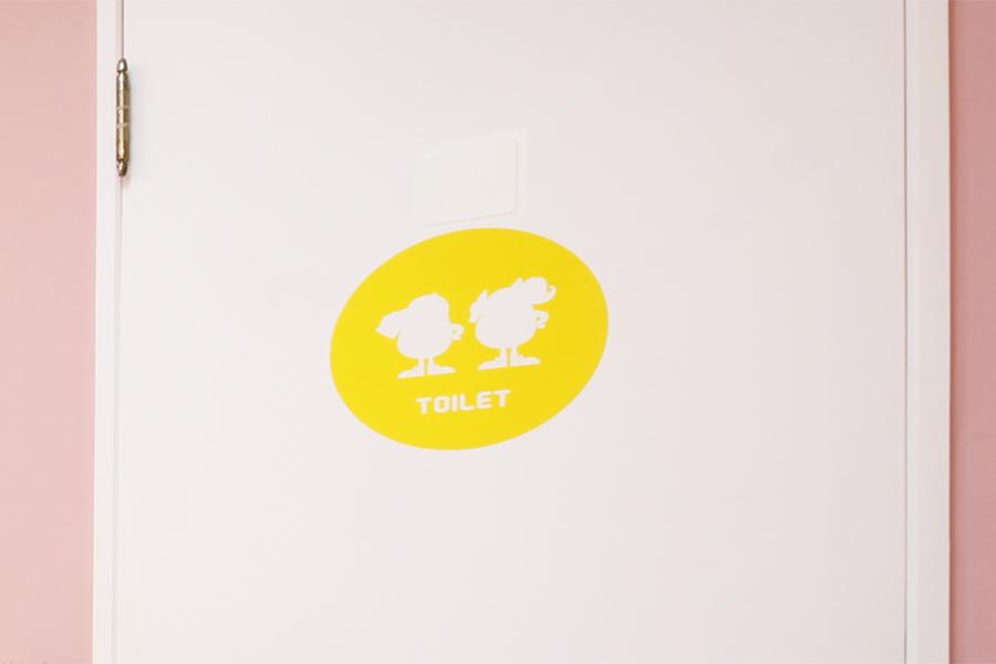 英会話教室/ドアのアイコン看板デザイン