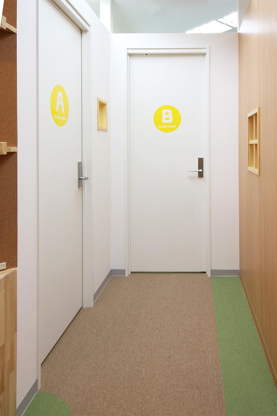 英会話教室のドア