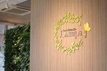 美容室のロゴマーク看板デザイン