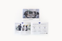 デザイン事務所のパンフレットデザイン