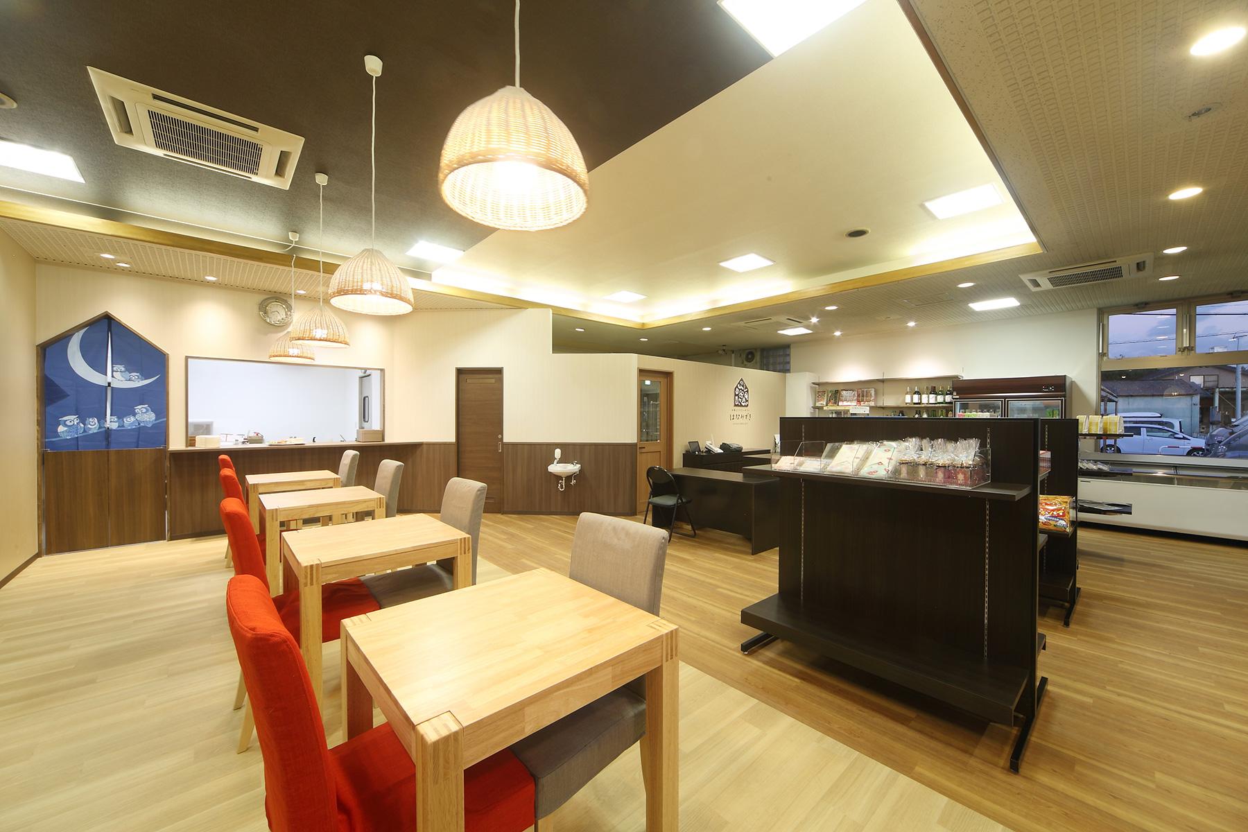カフェの店舗デザイン