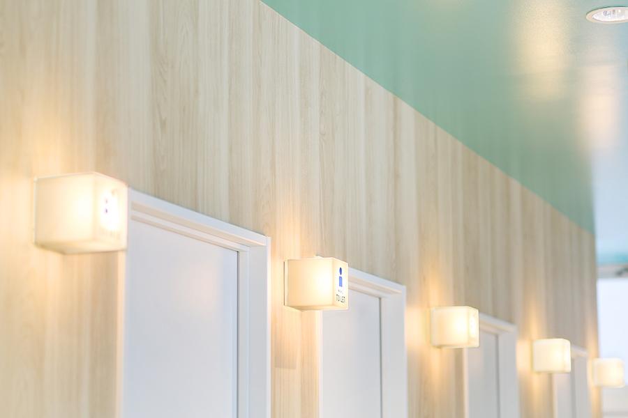 フィットネスジムの店舗デザイン