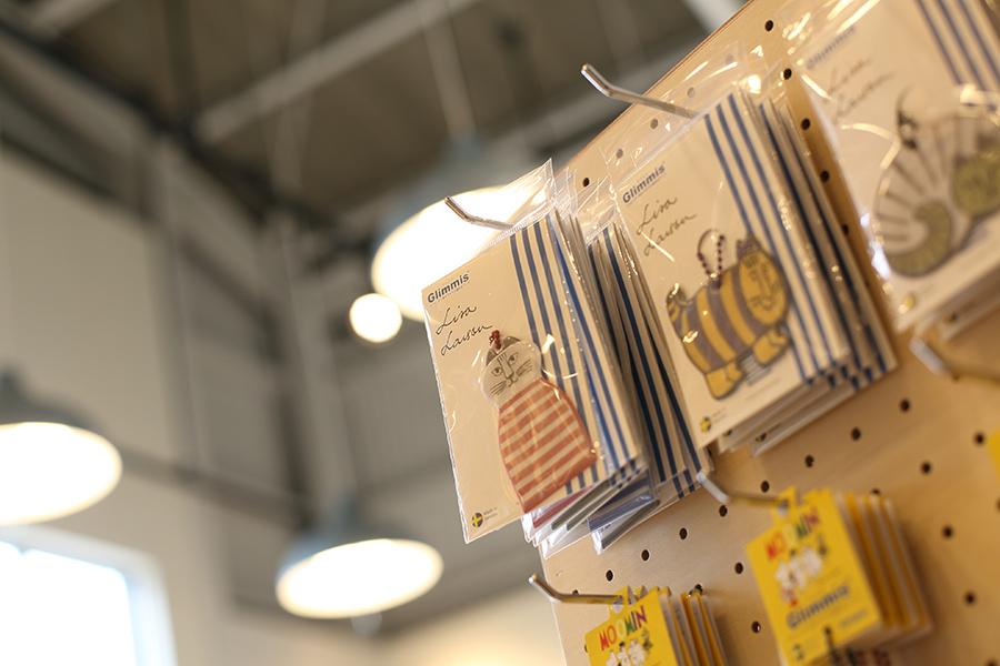 椅子張り工場兼ショップの雑貨