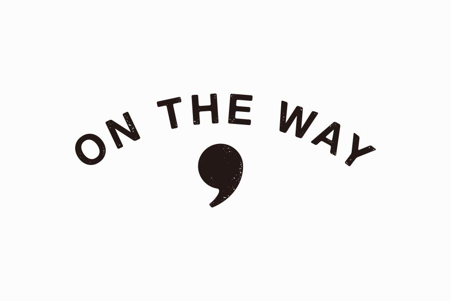 スタンドカフェのロゴマークデザイン_ON THE WAY,サムネイル