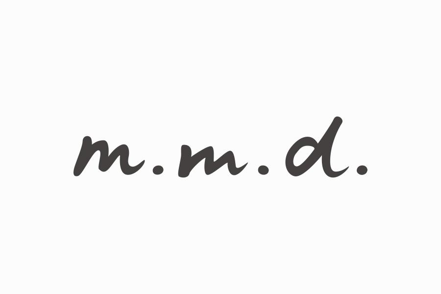 商品ブランドのロゴマークデザイン_m.m.dサムネイル
