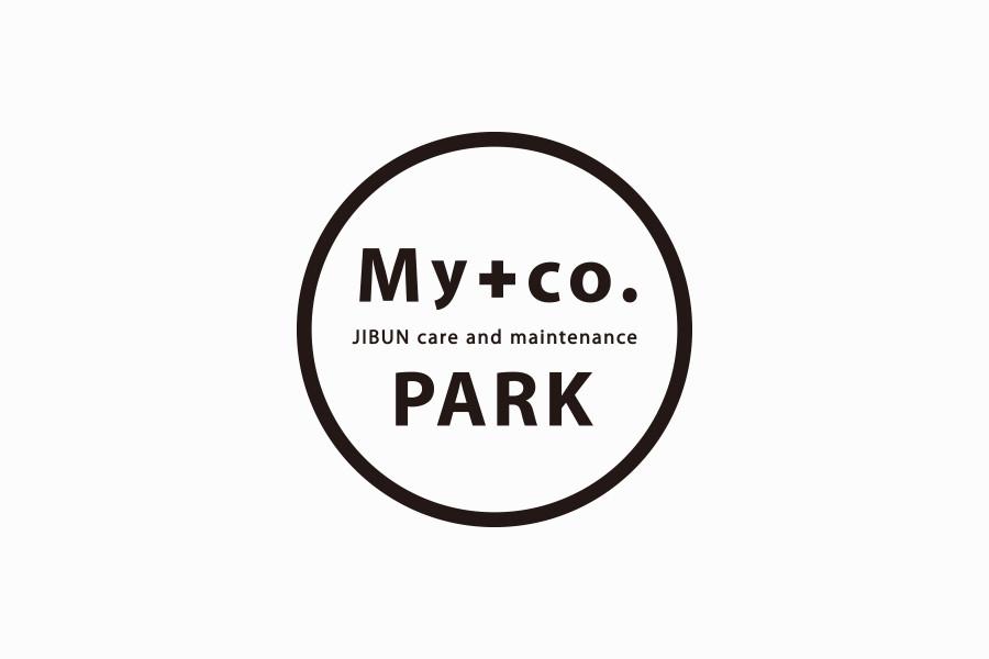 女性インストラクターブランドのロゴマークデザイン_My+co. PARKサムネイル