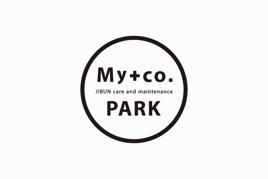 女性インストラクターブランドのロゴマークデザイン_My+co. PARK