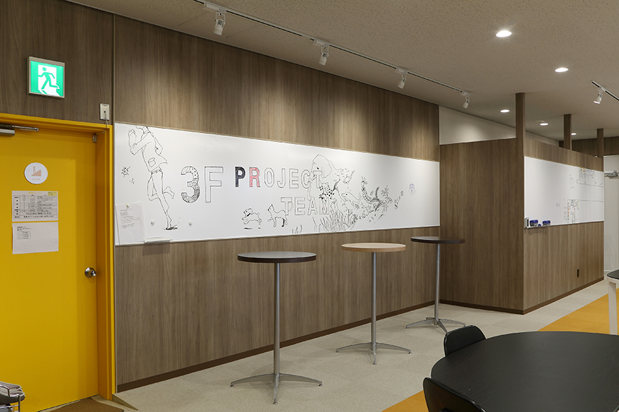 オフィスのインテリアデザイン