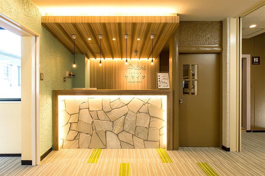 リゾートホテルのインテリアデザイン