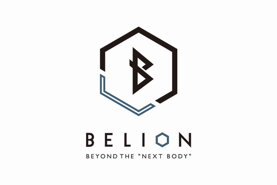 トレーニングスタジオのロゴマークデザイン_名古屋市中区丸の内 Belion (ビリオン)