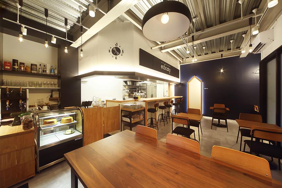 カフェダイニングの店舗デザイン_東京都府中市 美味しい薫りのある時間etocatoサムネイル