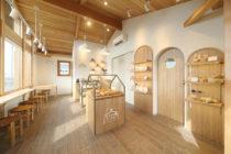 パン屋の店舗デザイン_長野県安曇野市 あづみのるベーカリーサムネイル