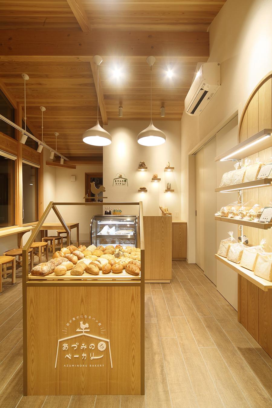 パン屋のインテリアデザイン