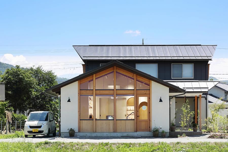 パン屋の外観デザイン