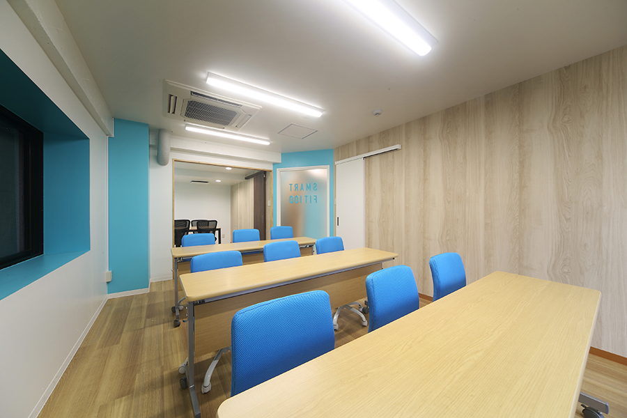 フィットネスジムのオフィスデザイン