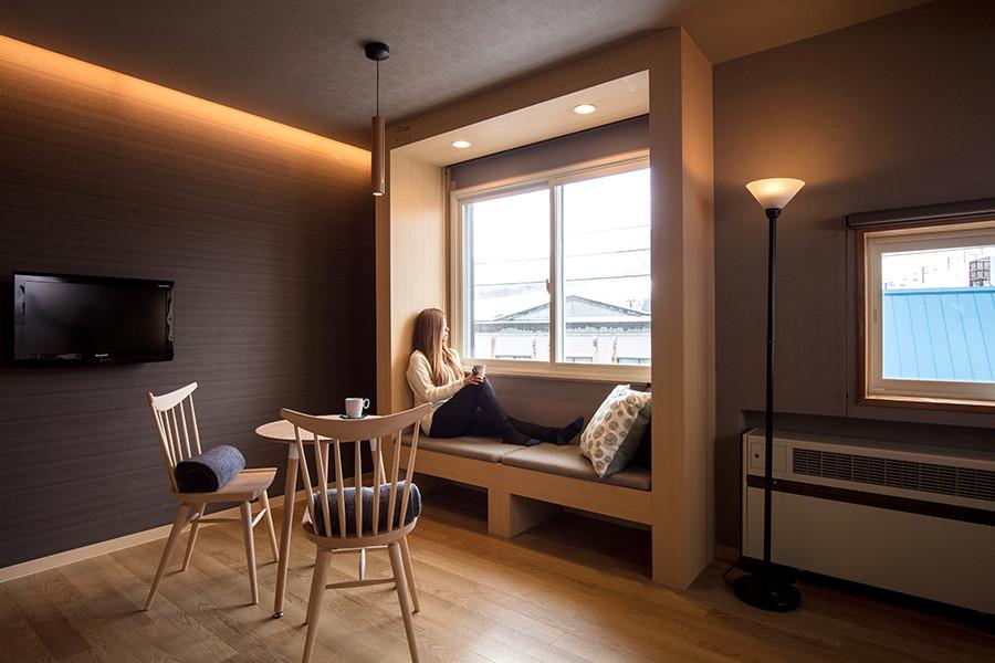 リゾートホテルの店舗デザイン_長野県北安曇郡小谷村 リゾートインヤマイチ2期工事サムネイル