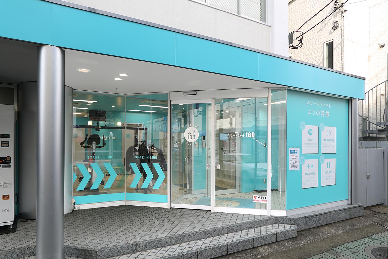 フィットネスジムの店舗デザイン_千葉県柏市 スマートフィット100柏店