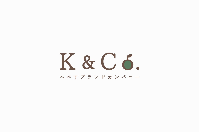 特産品ブランド代理店のロゴマークデザイン_へべすブランドカンパニー K&Co.