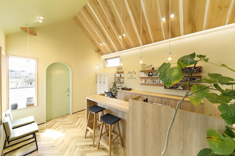 美容室の店舗デザイン