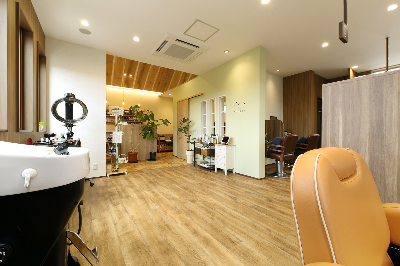 美容室のインテリアデザイン