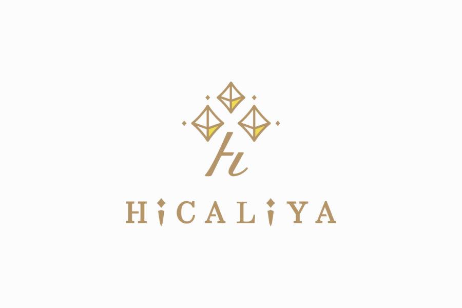 化粧品専門店のロゴマークデザイン_岐阜県中津川市 HiCALiYA(ひかりや)サムネイル