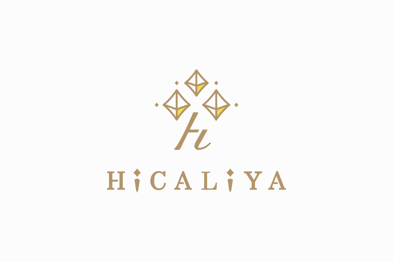 化粧品専門店のロゴマークデザイン_岐阜県中津川市 HiCALiYA(ひかりや)