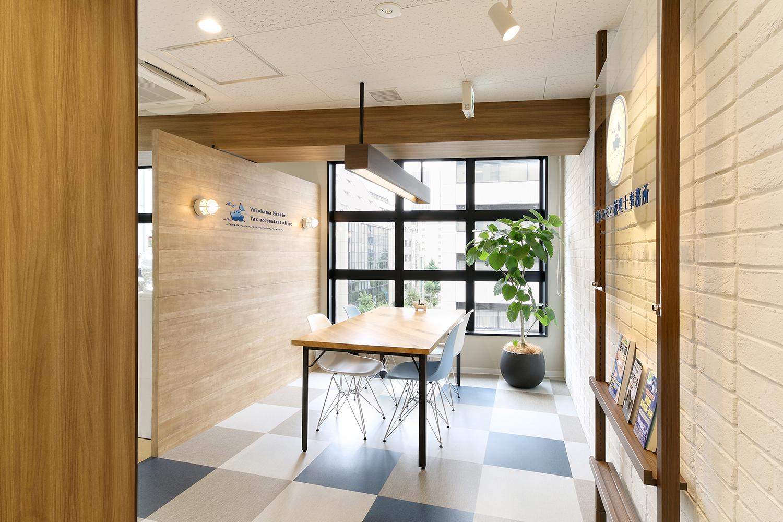 税理士事務所のオフィスデザイン_横浜みなと税理士事務所