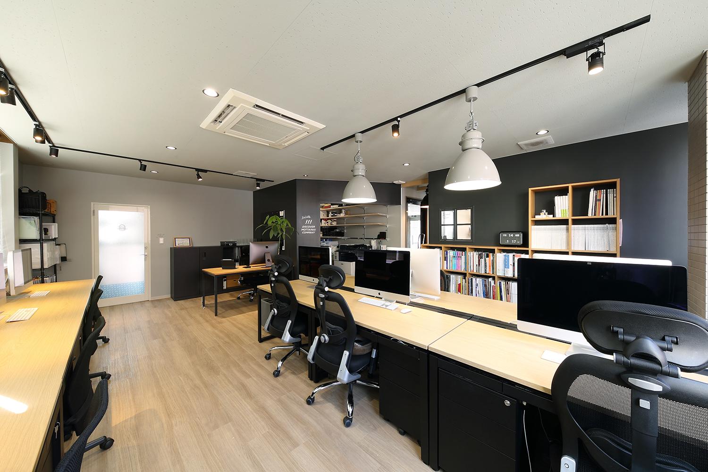 デザイン事務所のオフィスデザイン_コムデザインラボ名古屋オフィス