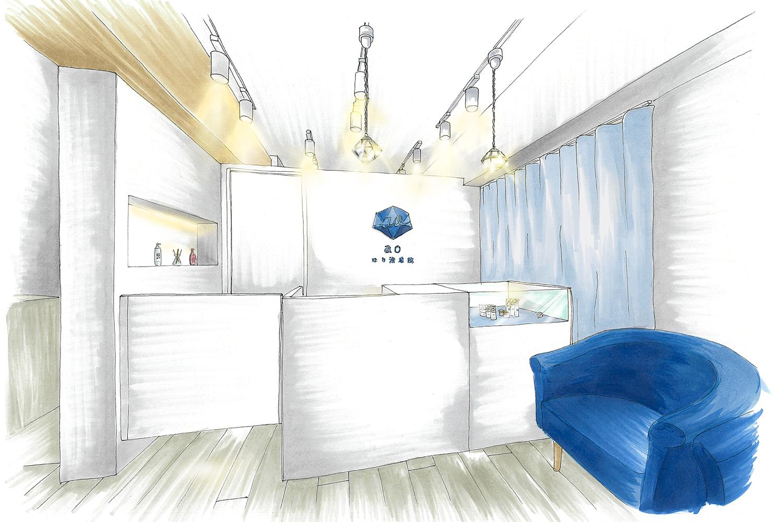 美容鍼灸院の店舗デザイン