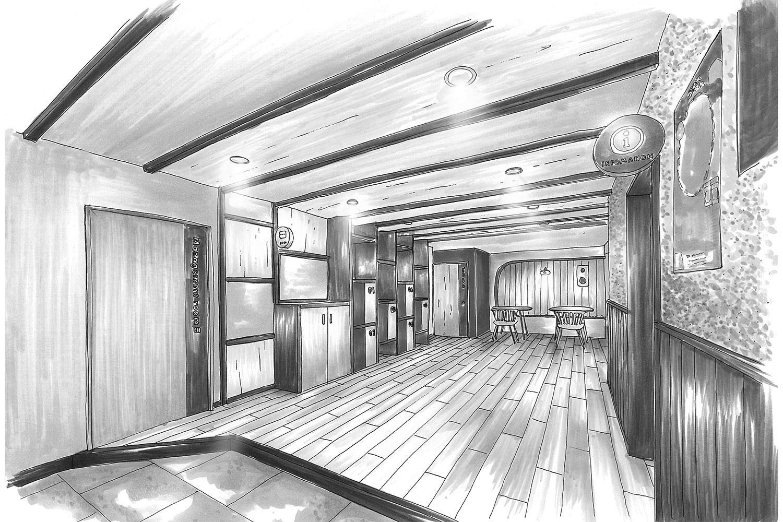 学生寮の空間デザイン_東京都府中市 ドーミー府中コミュニティハウス