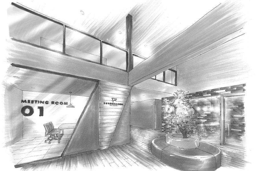 税理士事務所のオフィスデザイン(新築)